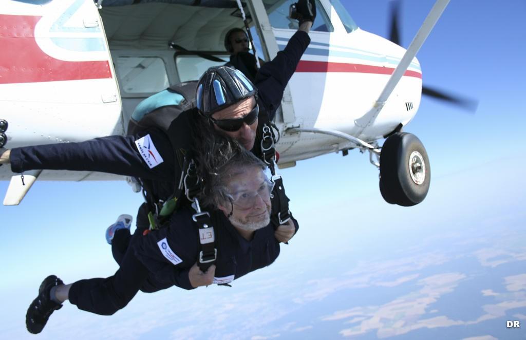 saut en parachute everest