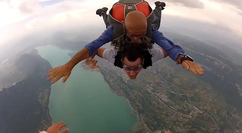 Bapteme saut en parachute parfait