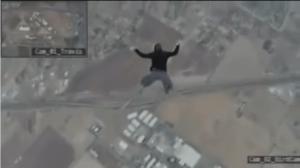 Chute libre sans parachute fake