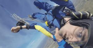 evanouissement lors d'un saut en parachute