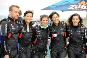Equipe de france championne du monde de saut en parachute
