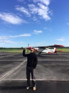On attend le temps avec Alix Brienne Aube Parachutisme centre de saut en parachute proche de Paris Ile de France