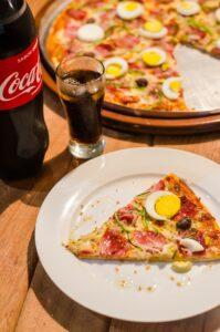 Pizza au snack de Brienne Aube Parachutisme - Centre de parachutisme proche de Paris