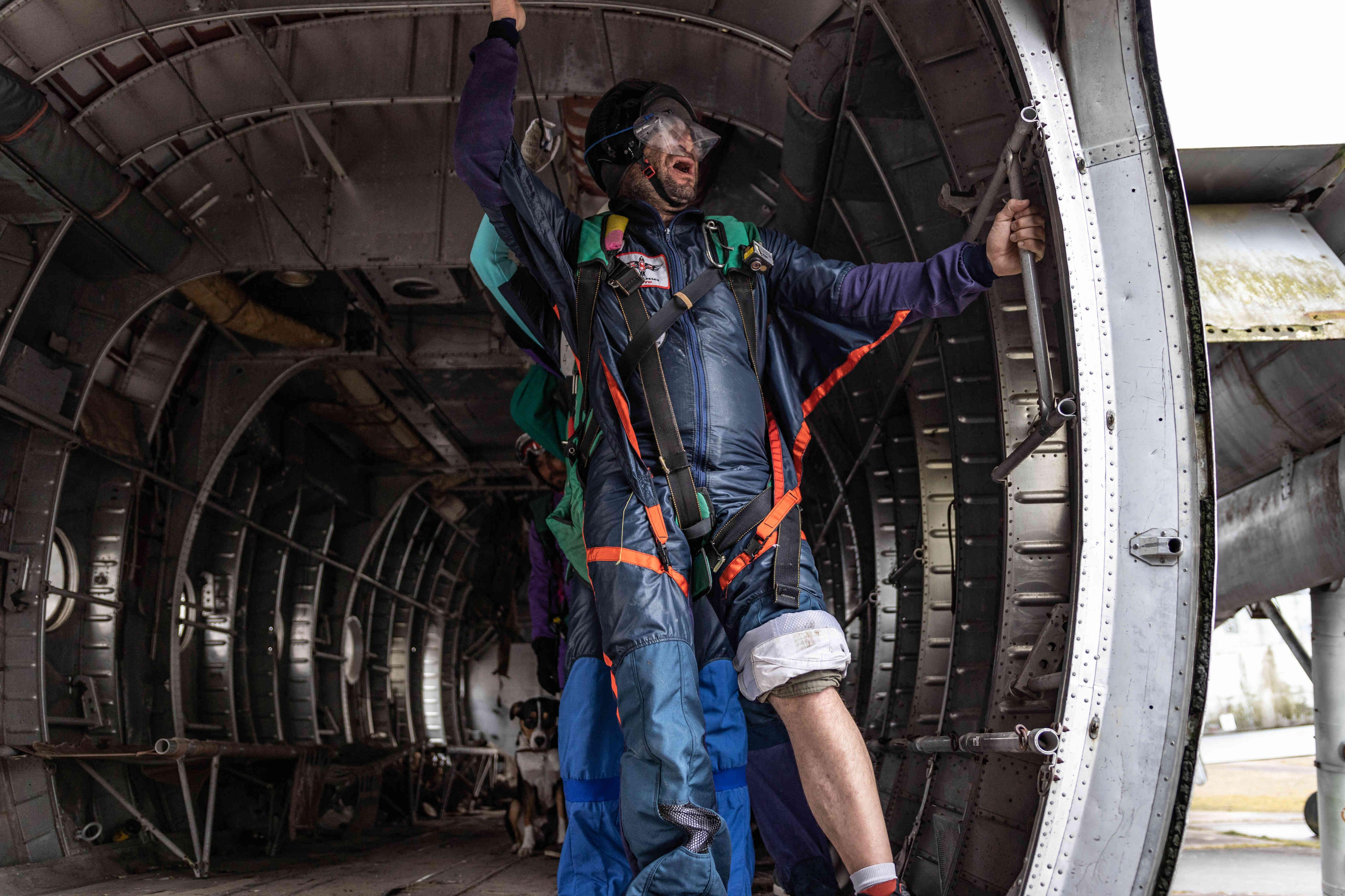 Premier saut en parachute essayez le tandem - Saut en parachute à proximité de Paris