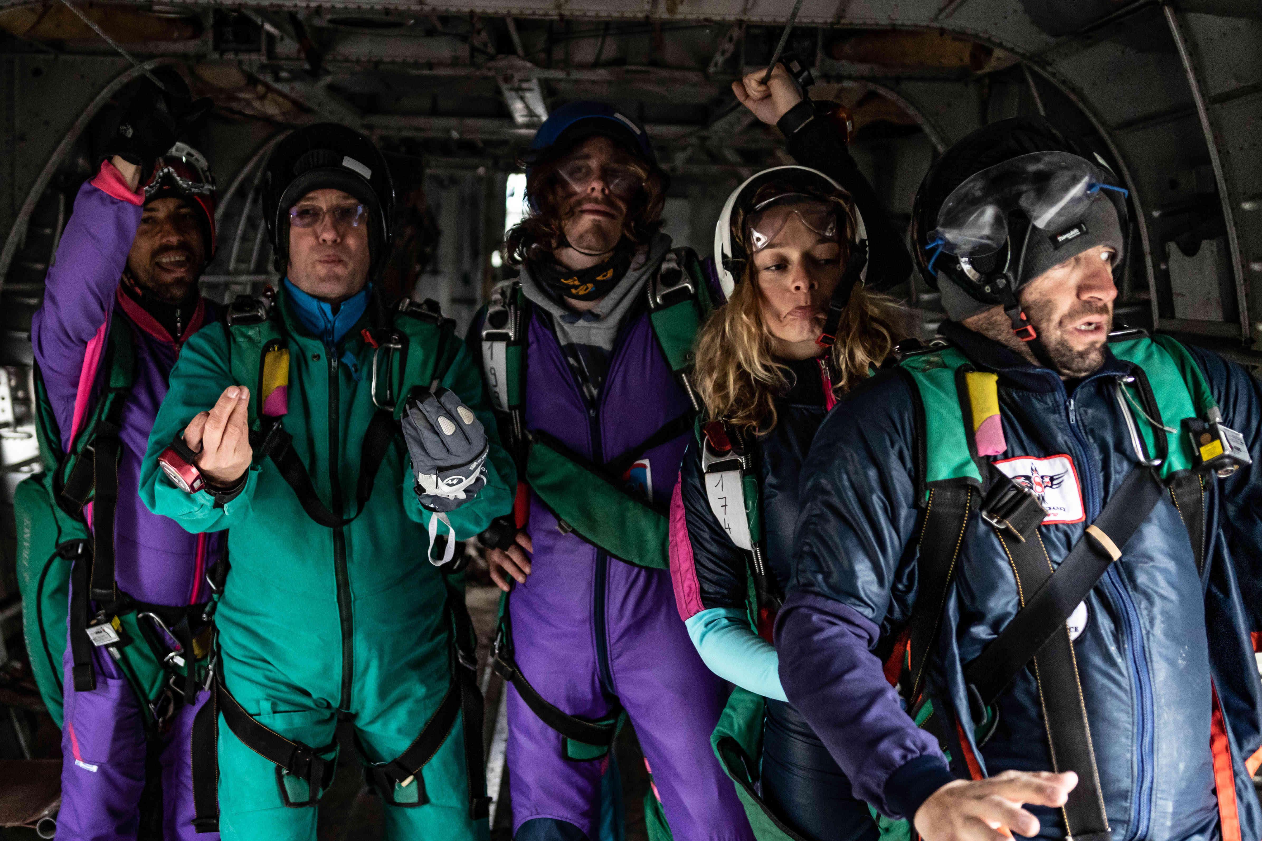 Adrenaline Sensation Peur de sauter en parachute à côté de Paris ?