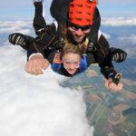 Boss saute en tandem skydive Brienne Aube Parachutisme centre de saut en parachute proche de Paris