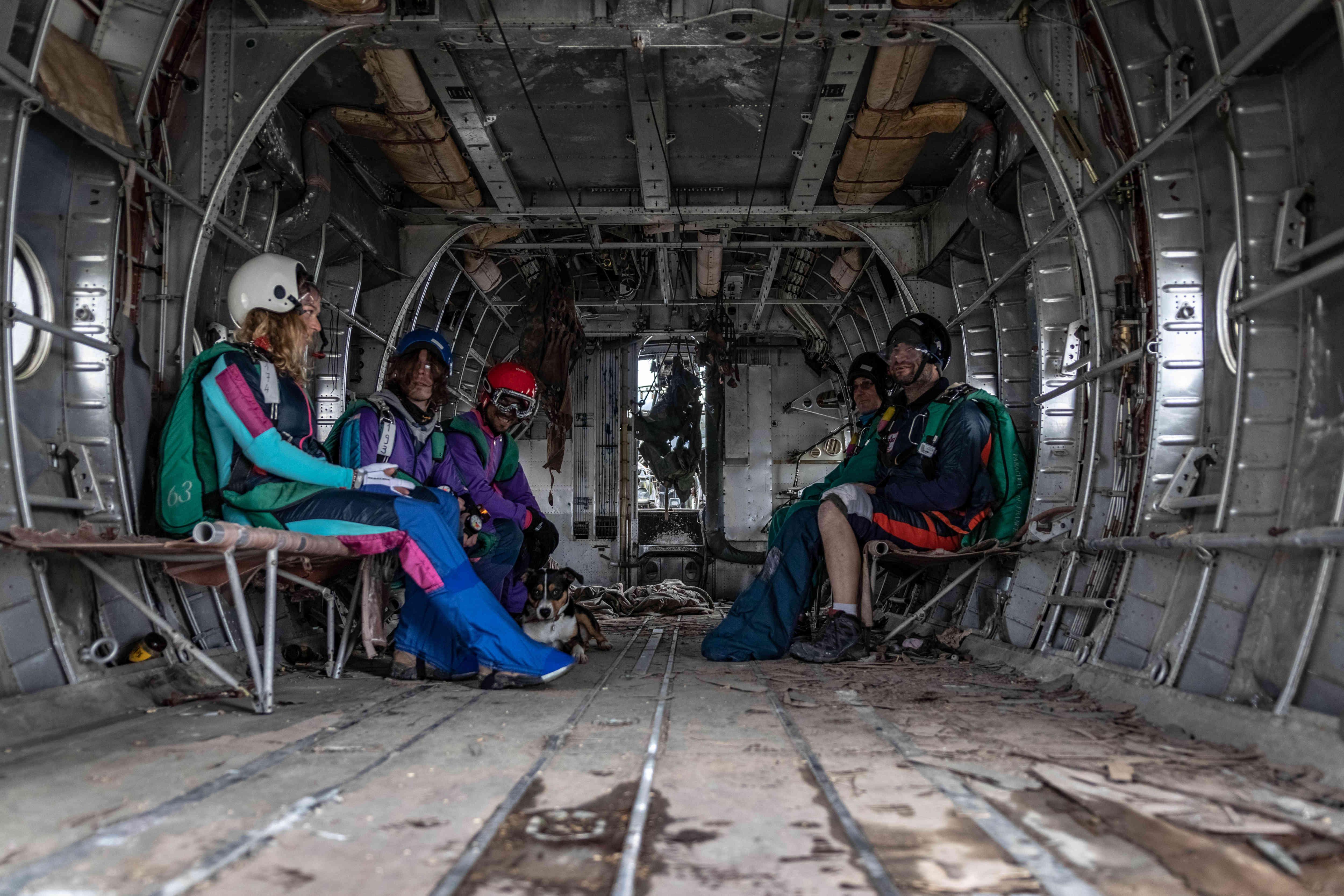 Staff du centre de Skydive Brienne Aube Parachutisme centre à proximité de Paris