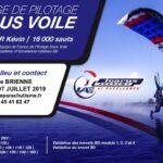 animation pilotage sous voile avec Kevin Techer juillet 2019 saut en parachute aube marne
