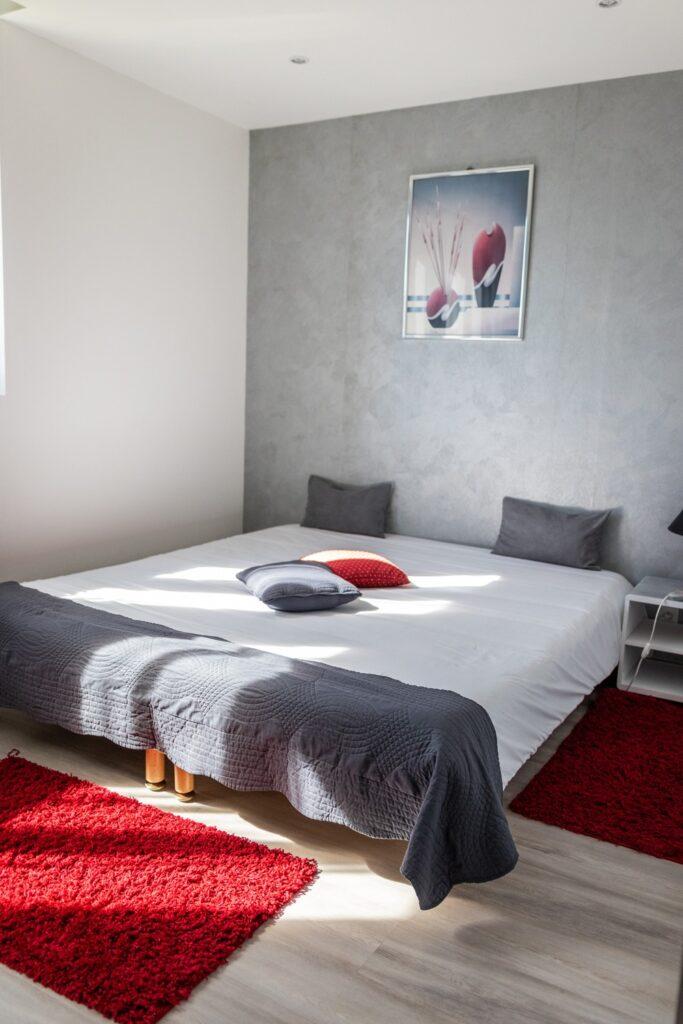 chambre quadruple avec salon Hôtel Air Lane Aube Parachutisme Troyes Paris