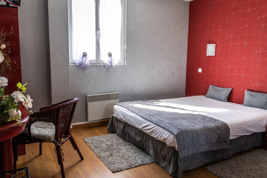chambre double Hôtel Air Lane Aube Parachutisme Troyes Paris
