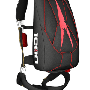 Sac harnais pour parachute individuel avec secours
